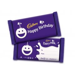 Happy Birthday Dairy Milk Bar (200g)