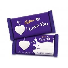 I Love You Dairy Milk Bar (200g)