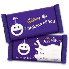Thinking Of You Dairy Milk Bar (200g)