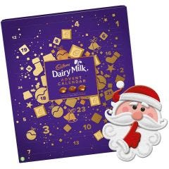 Cadbury Dairy Milk, Caramel & Wholenut Advent Calendar