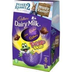 Dairy Milk Freddo Faces Egg 122g (Box of 9)