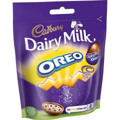Dairy Milk Mini Oreo Eggs Bag 82g