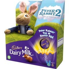Peter Rabbit Toy & Dairy Milk Easter Egg 72g