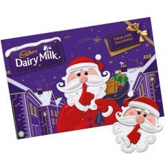 Secret Santa Dairy Milk Advent Calendar 200g