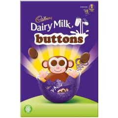 Cadbury Buttons Egg 74g (Box of 12)