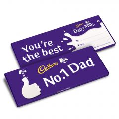 Dairy Milk No.1 Dad Bar (850g)