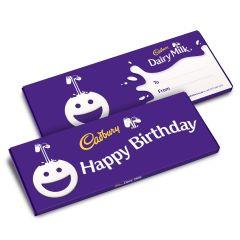 Happy Birthday Dairy Milk Bar (850g)