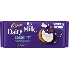 Cadbury Dairy Milk Coconutty Bar 105g