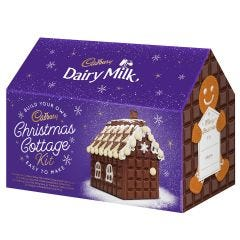 Cadbury  Santa Christmas Cottage Kit
