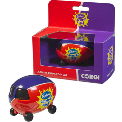 Creme Egg Corgi Car