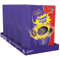 Creme Egg Giant Egg 497g (Box of 4)