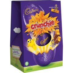 Cadbury Crunchie Easter Egg 258g (Box of 6)