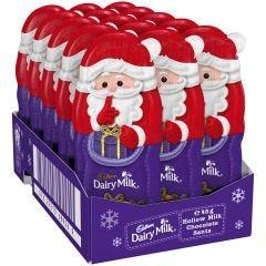 Cadbury Dairy Milk Hollow Chocolate Santa 45g (Box of 15)