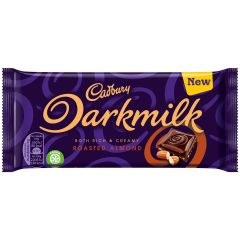 Cadbury Darkmilk Roasted Almond Bar 85g (Box of 16)