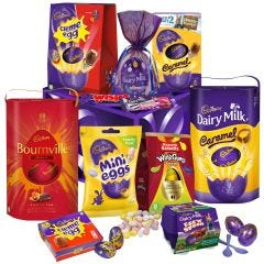 Cadbury Deluxe Easter Egg Hamper