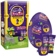 Cadbury Dairy Milk Freddo Treasures Egg 150g
