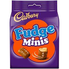 Cadbury Fudge Minis Bag 120g