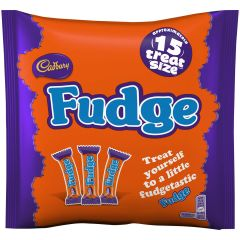 Cadbury Fudge Treatsize Bag 202g