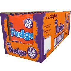 Cadbury Fudge Treatsize Bag 202g (Box of 14)