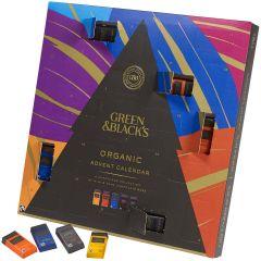 G&B Organic Chocolate Advent Calendar 360g