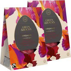 G&B 's Organic Dark Collection Egg 345g (Pack of 2)