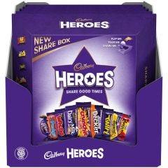 Cadbury Heroes Share Box 385g (Box of 5)