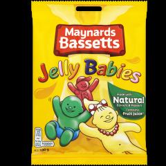Maynards Bassetts Jelly Babies 190g Bag