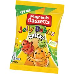 Maynards Bassetts Jelly Babies Chicks (Box of 12)