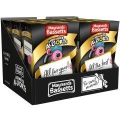 Maynards Bassetts Liquorice Allsorts Carton (Box of 6)