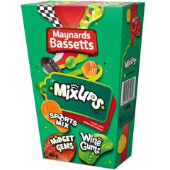 Maynards Bassetts Mix Ups Carton 400g
