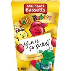 Maynards Bassetts Jelly Babies Carton (400g)