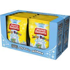Maynards Bassetts Jelly Babies Snowmen Bag 165g (Box of 12)