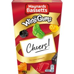 Maynards Bassetts Wine Gums Carton (400g)