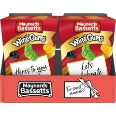 Maynards Bassetts Wine Gums Carton (Box of 6)
