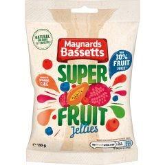 Maynards Bassetts Super Fruit Jellies Bag 130g