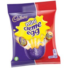 Cadbury Mini Creme Egg Bag 89g (Box of 22)