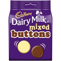 Dairy Milk Mixed Buttons 115g