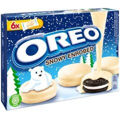 Oreo Snowy Enrobed Biscuits (246g)