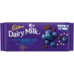Cadbury Dairy Milk Out Of The Blueberry Bar 105g