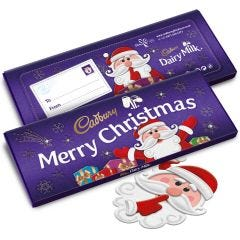 Secret Santa Dairy Milk Bar 850g