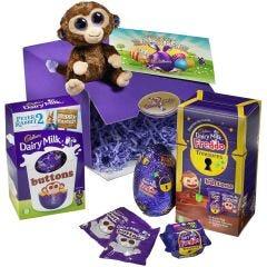 Cadbury Treasures Egg Buttons Monkey Hamper
