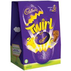 Cadbury Twirl Easter Egg 262g (Box of 6)