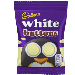 White Buttons Bag (Box of 60)