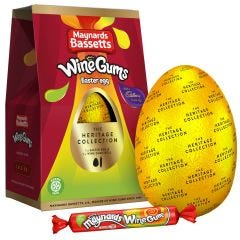 Maynards Bassetts Wine Gums Easter Egg 162g