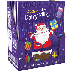 Dairy Milk Advent Calendar 90g (Box of 12)