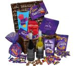 Cadbury Chocilate & Wines Hamper Basket