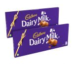 Cadbury Dairy Milk Bars 850g Twin Pack