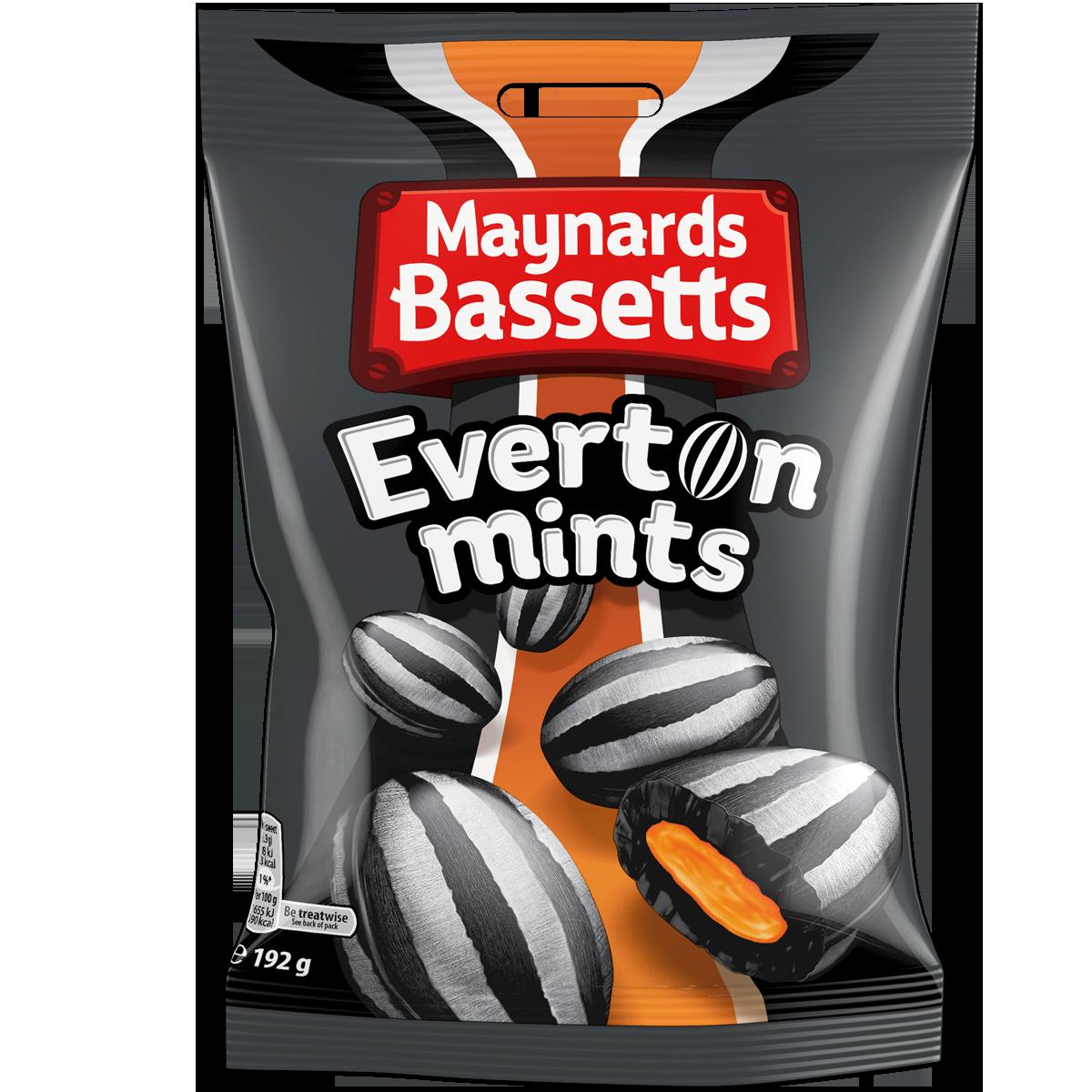 Maynards Bassett's Everton Mints 192g - Everton Gifts