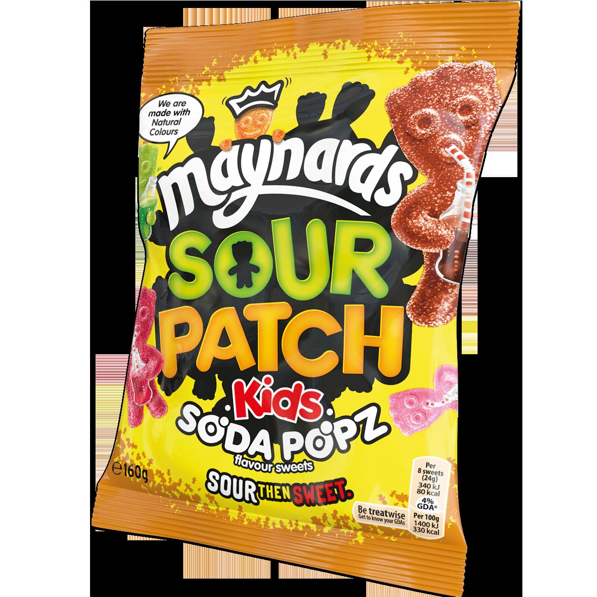 Cadbury Gifts Direct Sour Patch Kids Soda Popz