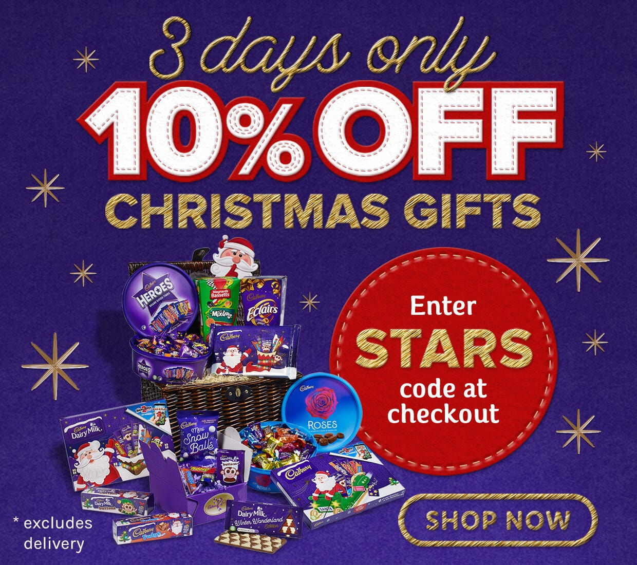 Christmas 10% Discount Offer